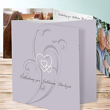 Vorlagen Goldene Hochzeit Einladung Liebesbrief 70 Karten
