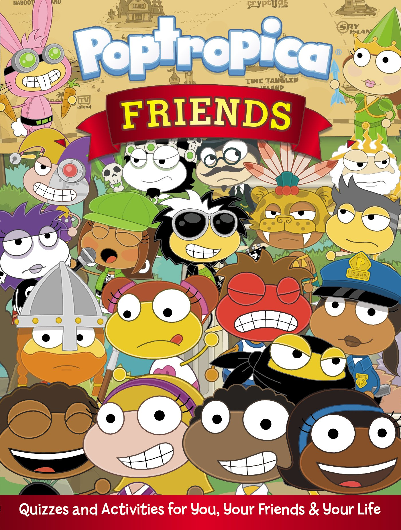 Download Friends: Quizzes and Activities for You, Your Friends, and Your Life (Poptropica) pdf