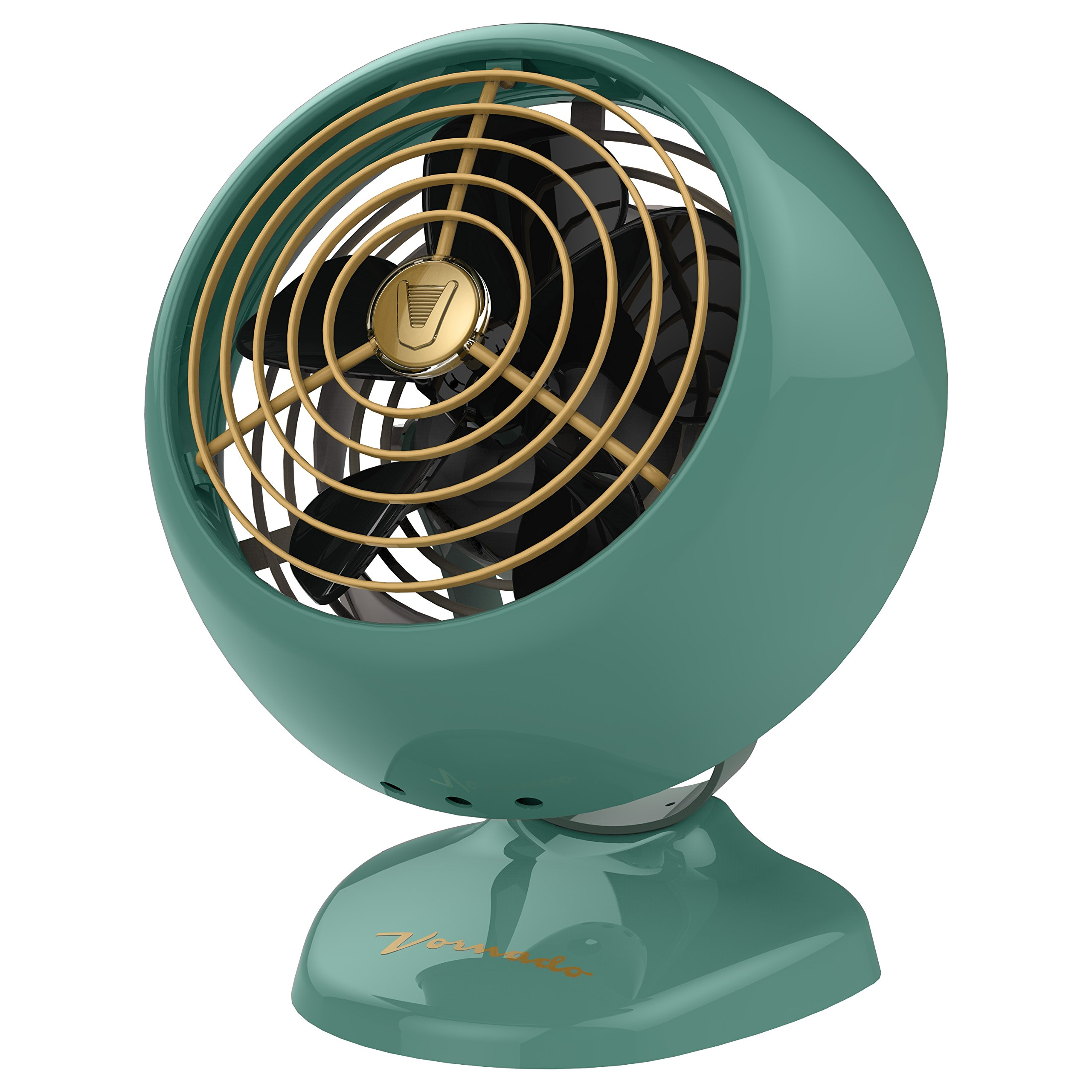 Vornado VFAN Mini Classic Personal Vintage Air Circulator Fan, Green by Vornado