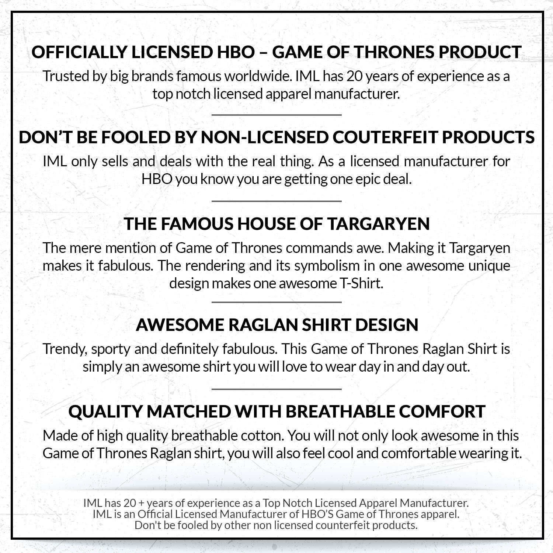Amazon.com: HBO de Juego de Tronos de los hombres Targaryen ...