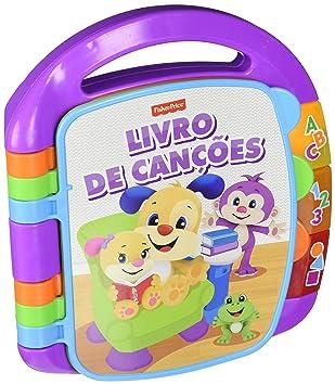 Fisher Price Livre D Apprentissage Portugais Jouet Enfant 6 Mois Mattel Fvt23