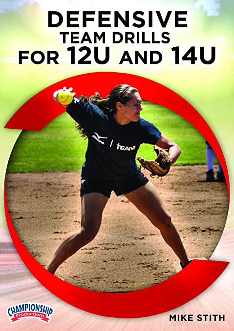 Amazon.com: Defensive Team Drills for 12U and 14U: Mike ...