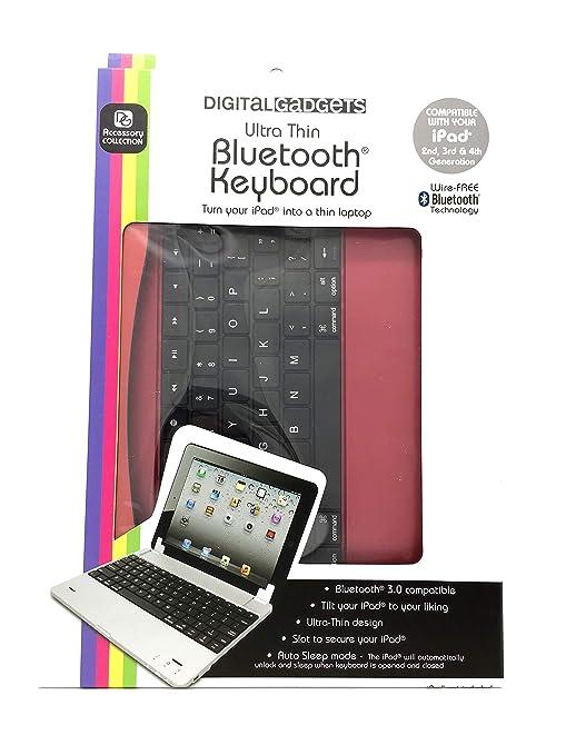 Amazon com: Digital Gadgets Ultra Thin Bluetooth Keyboard