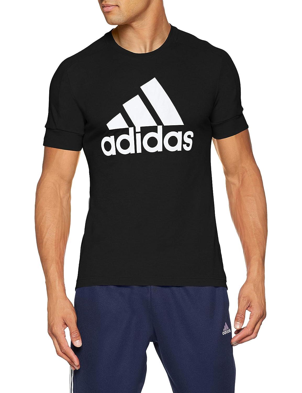 TALLA XX-Large. adidas ID Stadium Camisa Cuello Redondo Manga Corta Poliéster - Camisas y Camisetas (Camisa, Adulto, Masculino, Negro, Monótono, XXL)
