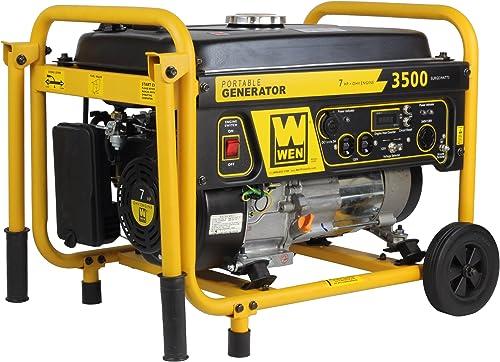 WEN 56352, 3000 Running Watts 3500 Starting Watts, Gas Powered Portable Generator