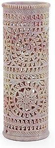 Nagina International Real Stone Carved Handmade Flower Vase