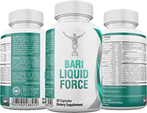 Bariatric Liquid Force Multivitamin - Complete Post Bariatric Iron and 42 Super Fruits and Supplements