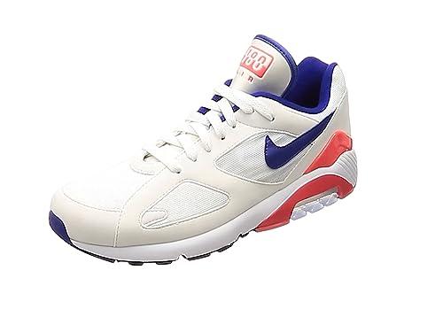 online store 4bd13 3590f ... purchase nike mens air max 180 gymnastics shoes white ultramarine solar  red 100 86b53 17e2f