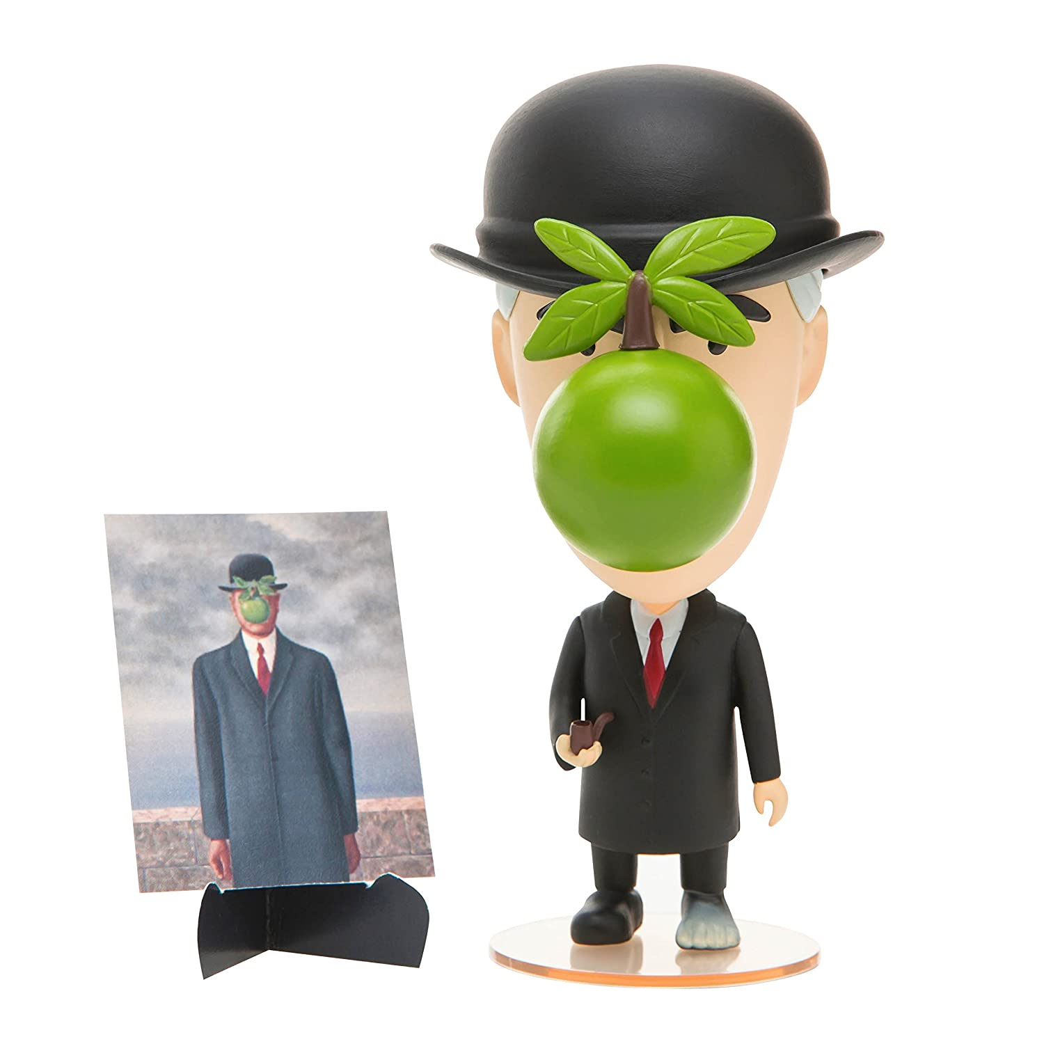 Rene Magritte Surrealist Action Figure Transforms Into The Son of Man Today Is Art Day