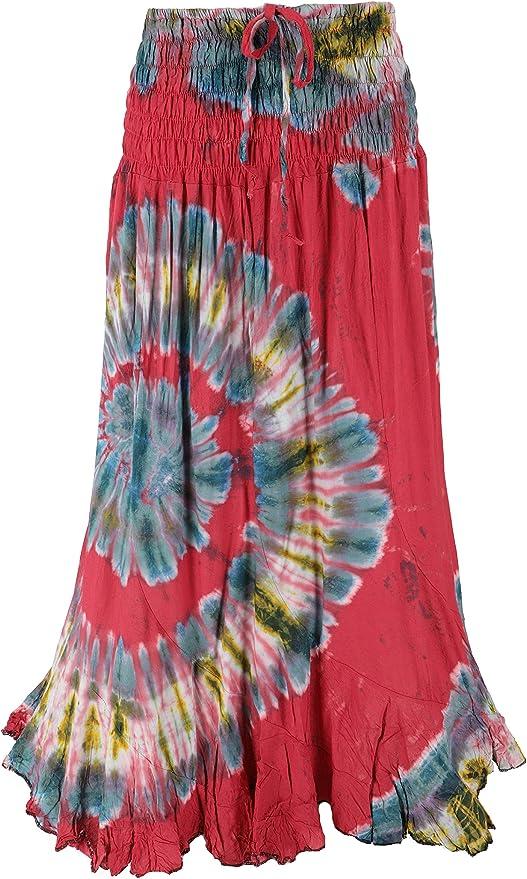 Guru-Shop, Falda Hippie, Hippie Vestido de la Falda Maxi Falda de ...
