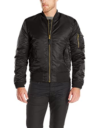 7607a55443b41 Amazon.com  Alpha Industries Men s MA-1 Slim Fit Flight Bomber ...