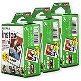 Fujifilm Instax Mini Film, White Multi-Pack (60 Exposures)