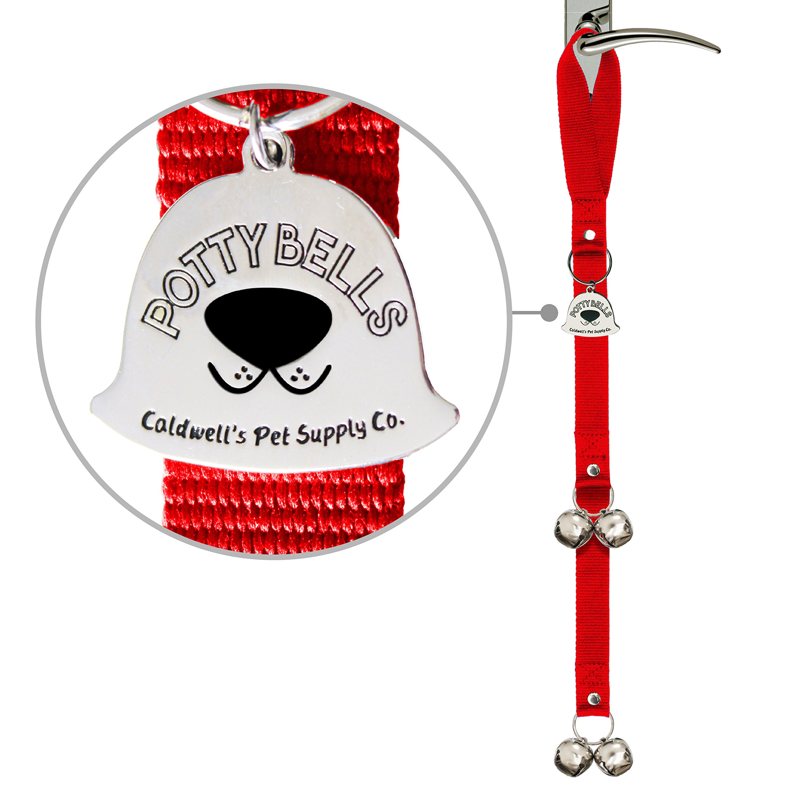 Potty Bells Housetraining Dog Doorbells for Dog Training and Housebreaking
