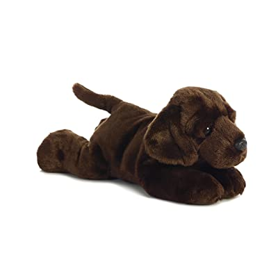 "Aurora - Flopsie - 12"" Chocolate Lab - Max: Toys & Games"