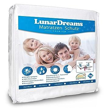 Luna rdreams Colchón Colchón contra incontinencia (Resistente al Agua – para alérgicos – Protege contra