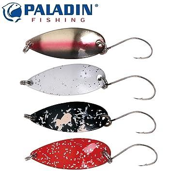 Forellenblinker Paladin Trout Spoon 2,5g Spinnköder Spoon für Forellen
