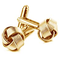 Joyfulshine Mens Twist Shirts Round Cufflinks Stainless Geometry for Wedding Business