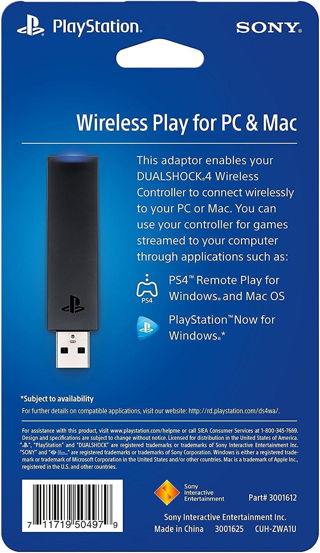 Amazon com: Sony DualShock 4 USB Wireless Adaptor