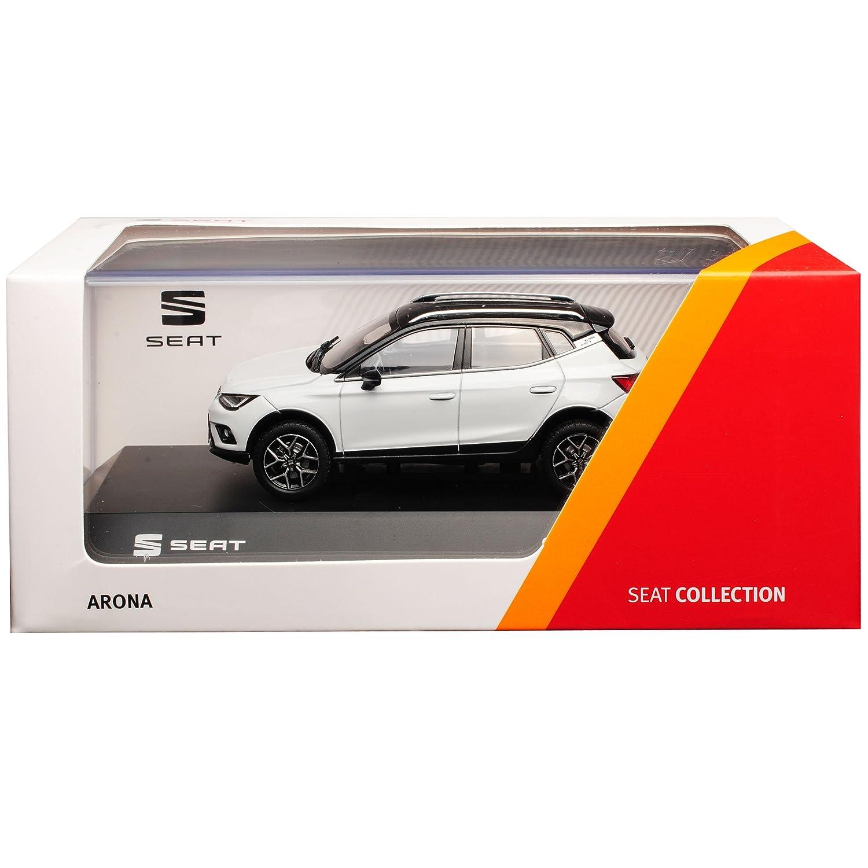 Seat Nevada Arona SUV Nevada Seat Weiss Ab 2017 1/43 Modell Auto mit individiuellem Wunschkennzeichen f8de7b