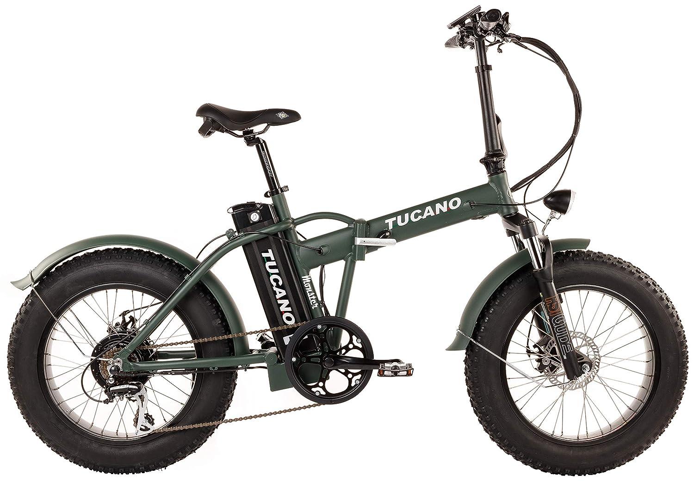 Tucano Bikes Monster 20 - Bicicleta Eléctrica Plegable Fat Bike 20