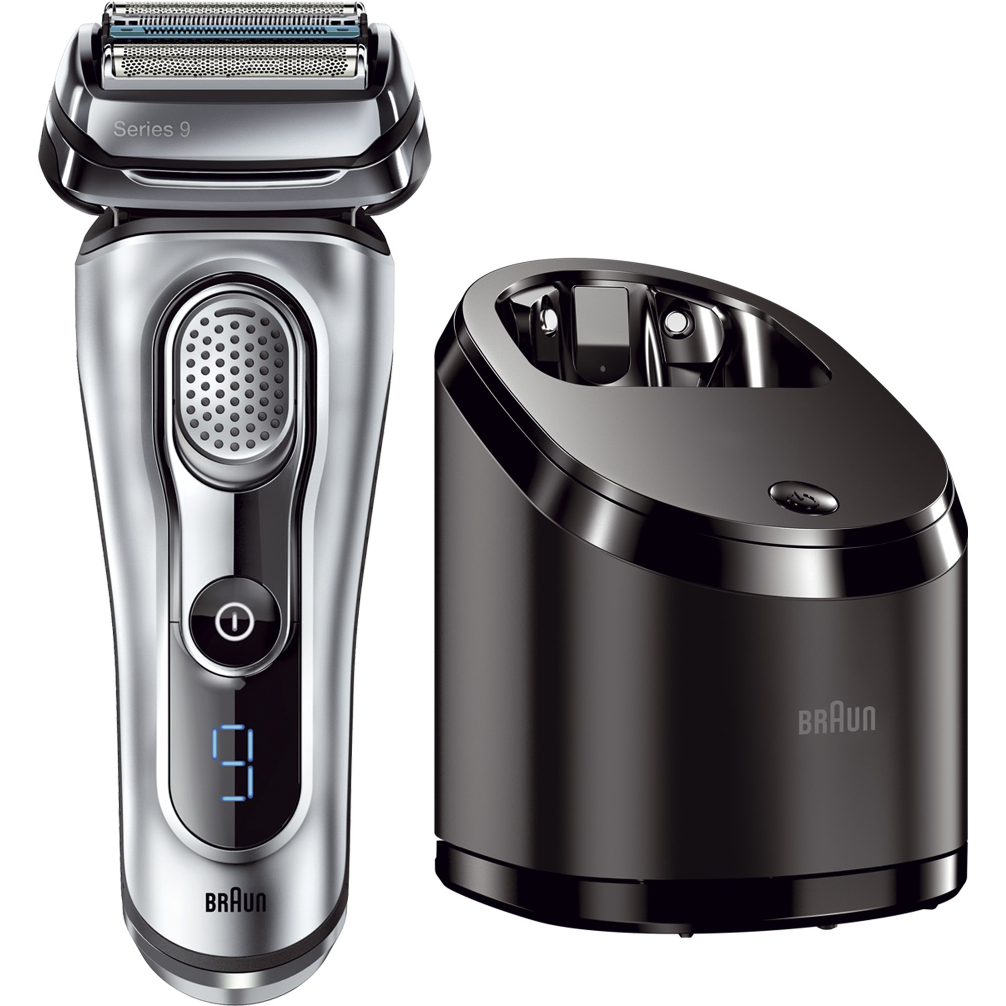 braun series 9 9090cc electric foil shaver for men with. Black Bedroom Furniture Sets. Home Design Ideas