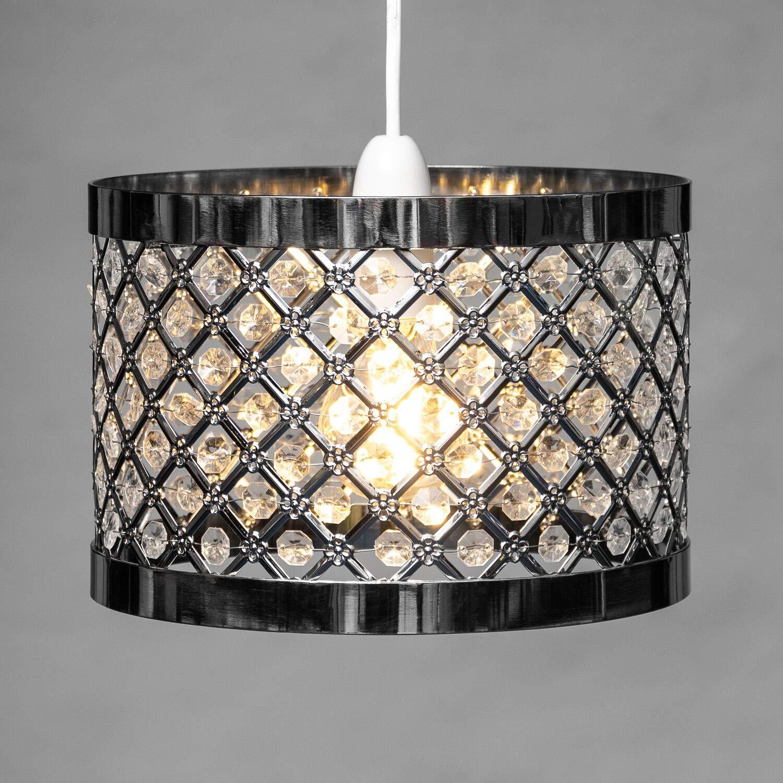 Home Treats design unicorno gabbia in rame e nero farfalle Unicorns 6 paralumi eleganti da appendere al soffitto cristallo lampadario