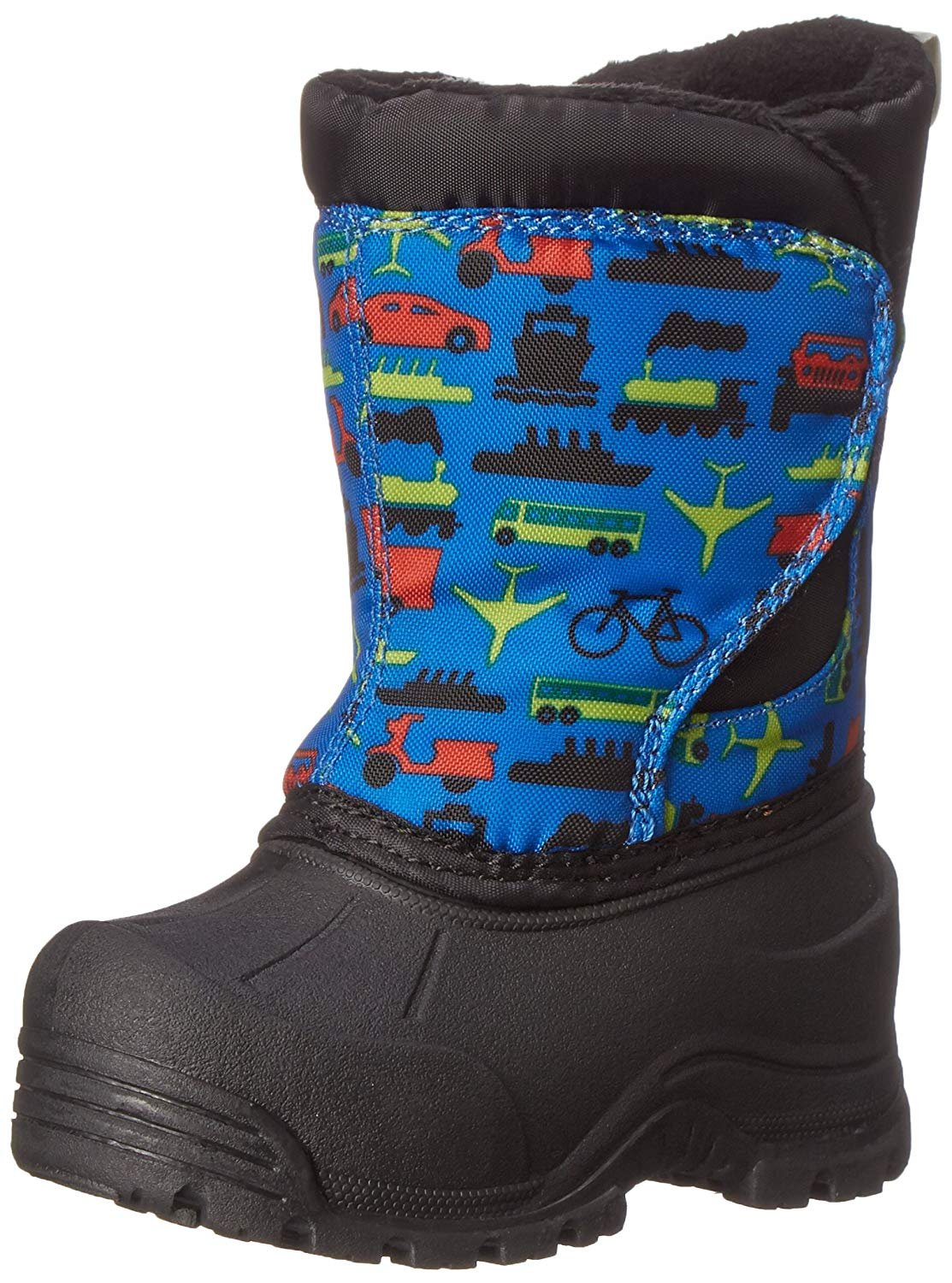 Northside Snoqualmie Cold Weather Boot (Toddler), Blue/Multi, 7 M US Toddler