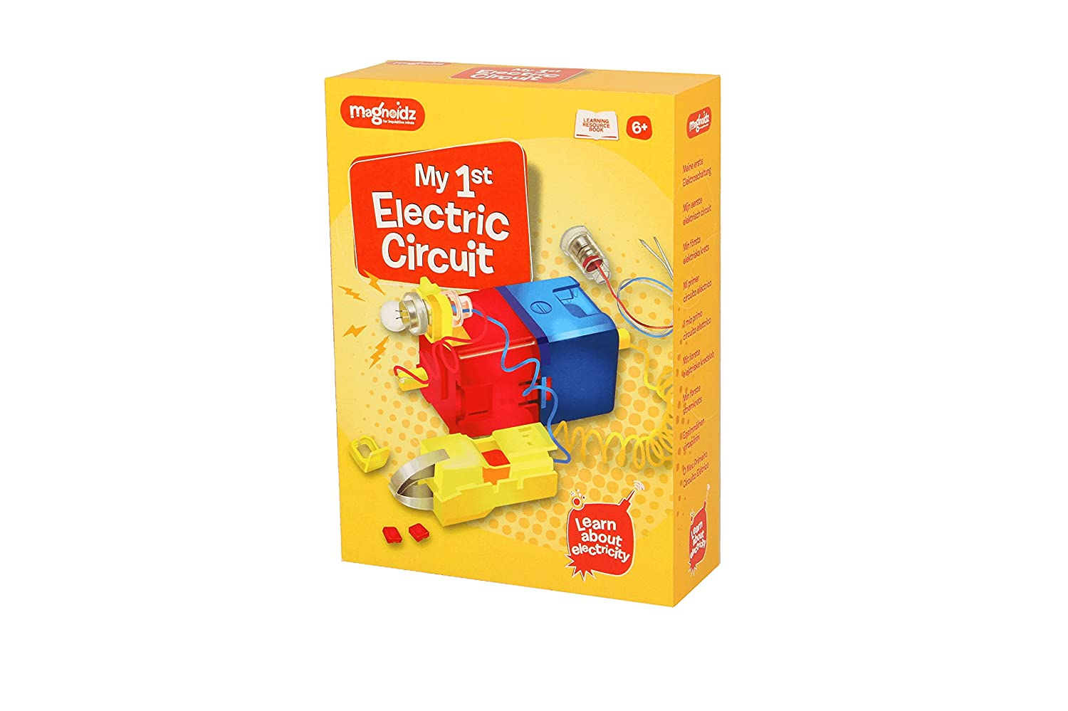 Magnoidz Labs My 1st Electric Circuit Science Kit For Kids Amazon Learning Electricity And Circuits Toys Games