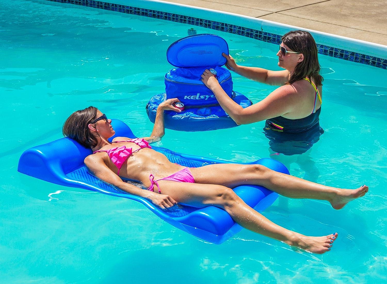 Amazon.com: Aquaria piscina flotante Aqua Hamaca Tumbona ...