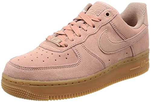 finest selection e1e1f 4093d Nike Air Force 1 07 Womens BrownIvory AA0287-200 (8.5 B