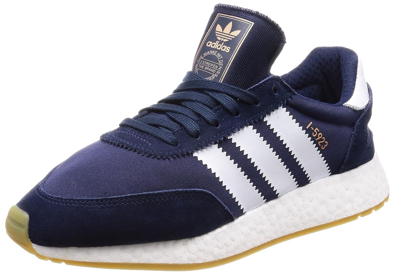 adidas Iniki Runner, Sneakers Basses Homme, Rouge (Red/Footwear White/Gum), 42 2/3 EU