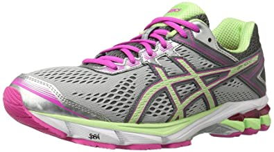 ASICS GT-1000 4 Women's Running Shoes Silver/pistachio/pink