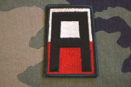 Amazon com: Authentic Rare US Army Dress Colored 1st Army Military Patch