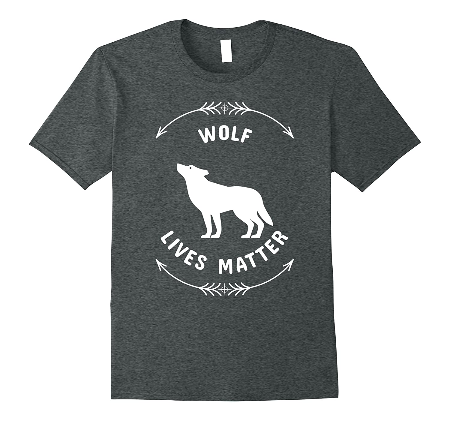 Animal Lover Wolf Lives Matter Save The Wolves T-Shirt-TH
