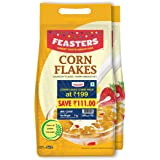 Feasters Corn Flakes Plain Pouch, 1kg