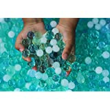 Water Beads Ocean Tactile Sensory Experience - 4 Colors Sensory Beads Water Sensory Bags- 8,000ct