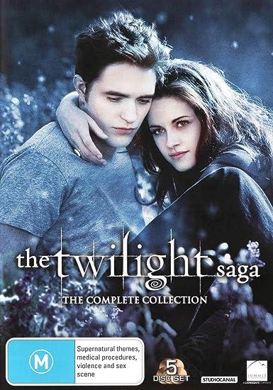 5 Movie Franchise Pack Twilight / Breaking Dawn Part 1 / Breaking ...