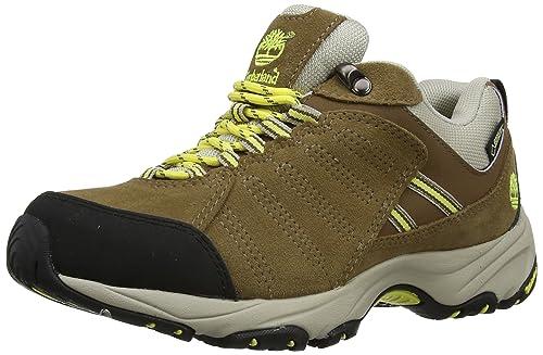 Timberland Translite FTP_Tilton Low GTX - Zapatillas de Trekking y Senderismo de Cuero Mujer, Color marrón, Talla 41: Amazon.es: Zapatos y complementos