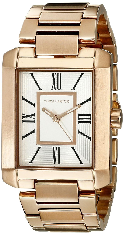 Vince Camuto Damen-Armbanduhr Analog Quarz Edelstahl VC-5228SVRG