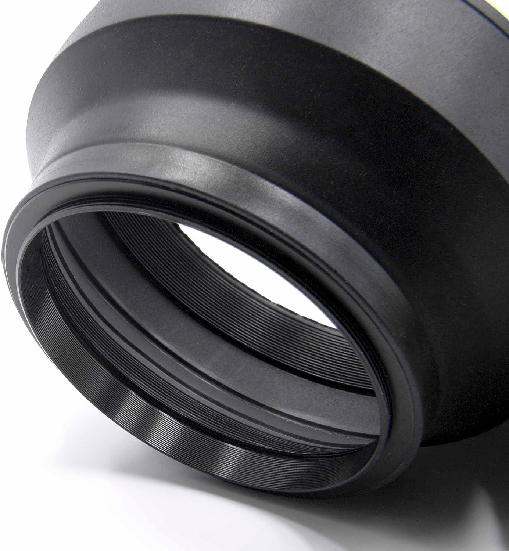 CELLONIC/® Parasol Teleobjetivo /Ø 72mm Compatible con Tamron SP AF 180mm F3.5 Di LD IF Macro 1:1 Capilla C/ámara Visera Parasoles Cubierta del Objetivo