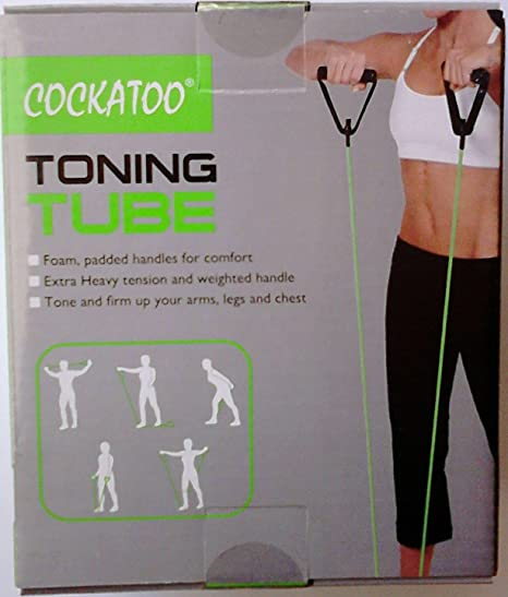 Cockatoo Toning Tube Heavy Resistance  Green