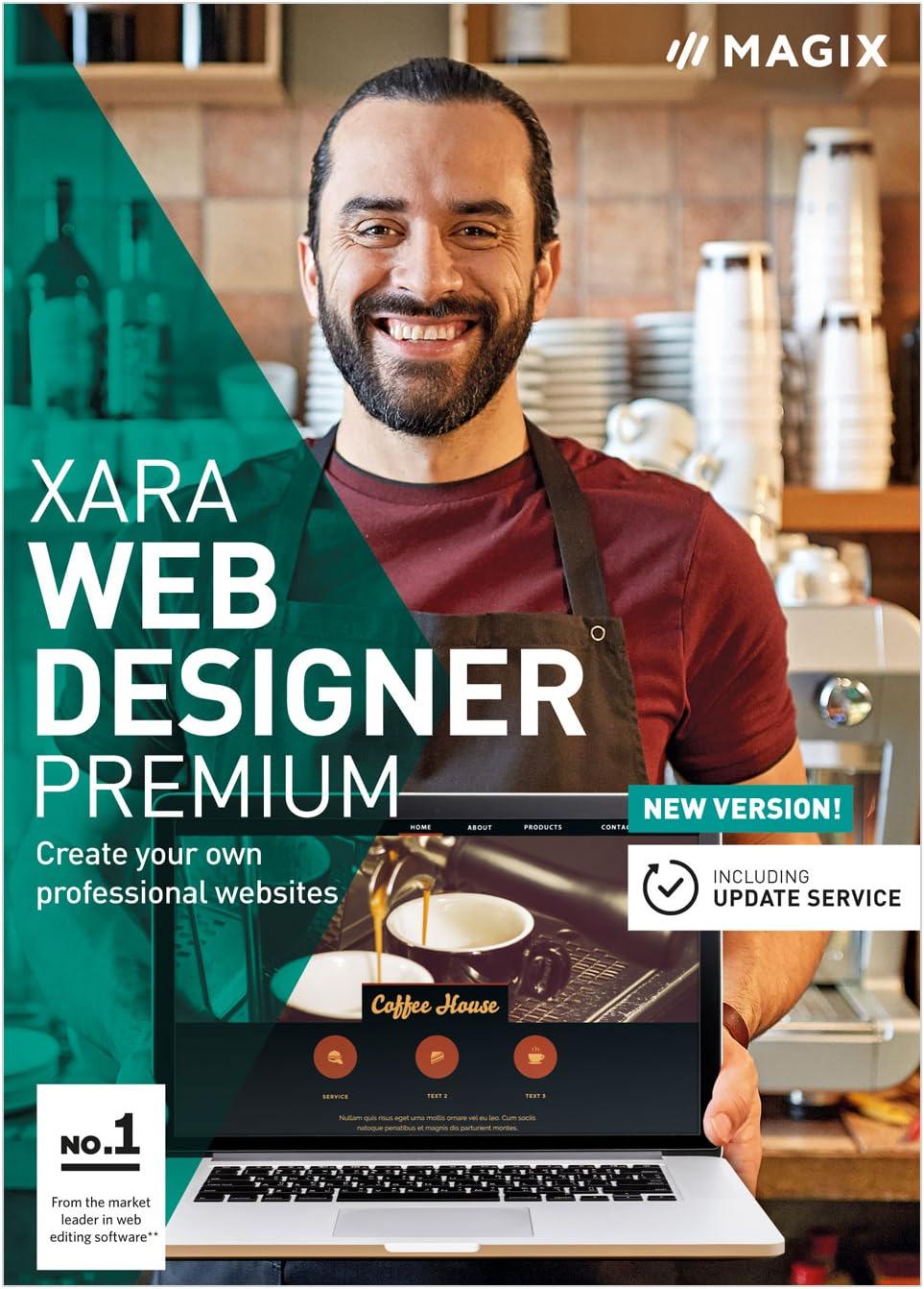 Amazon Com Xara Web Designer Premium 15 Create Your Own Professional Websites Download Software