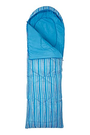 Mountain Warehouse Saco de Dormir Tipo Rectangular Apex 250 - Saco de Acampada con Cremallera bidireccional, Saco de Dormir Ligero - Ideal para Acampada, ...