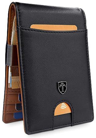 TRAVANDO ® Slim Wallet with Money Clip quot Rio quot  RFID Blocking Wallet   1a56d2fef4fab