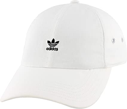 Black White One Size Adidas Originals Sb Classic Trefoil Unisex Headwear Cap