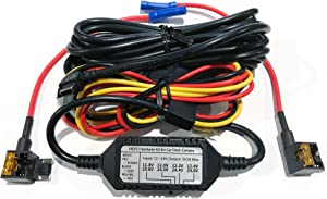 Viofo 3-Wire Hardwire Kit for The A119V3 and A129 Dash Camera with Low Profile (Micro) Fuse Taps