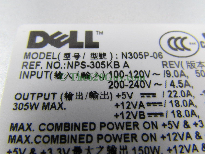 Amazoncom Dell Optiplex 740 MT 305W ATX12V