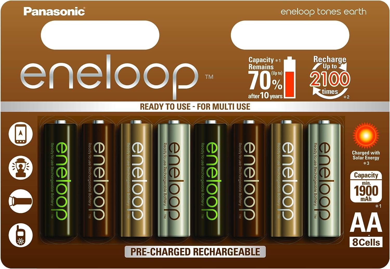 Panasonic Eneloop Earth Ready To Use Ni Mh Battery Aa Elektronik