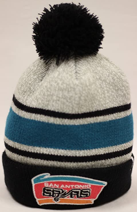 c534a6fa6fb Image Unavailable. Image not available for. Color  The 47 Brand San Antonio  Spurs Palmer Cuff Pom Beanie