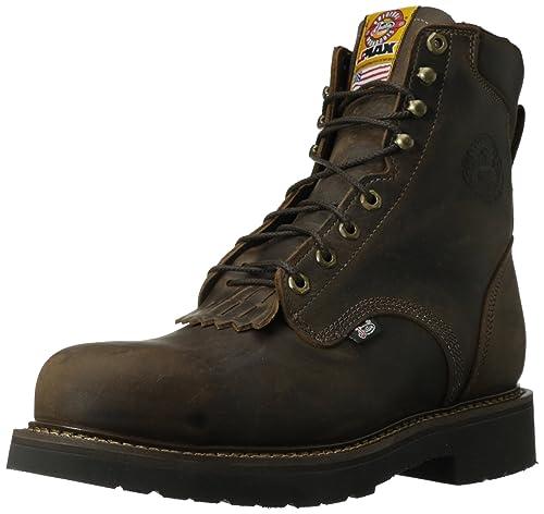 20a381e2fed Justin Original Work Boots Men's J-max Steel Toed Work Shoe